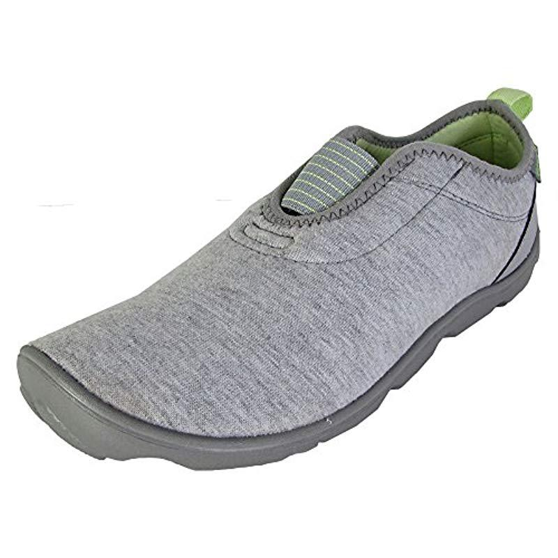 8083944e1312db Lyst - Crocs™ Duet Busy Day Heather Easy-on Shoe in Gray - Save ...