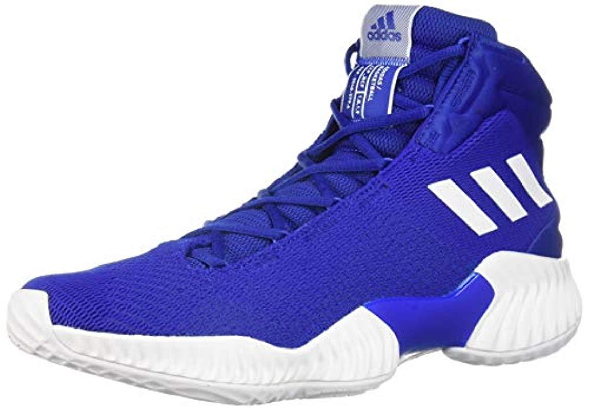ab8b4003297 Lyst - adidas Originals Pro Bounce 2018 Basketball Shoe in Blue for Men