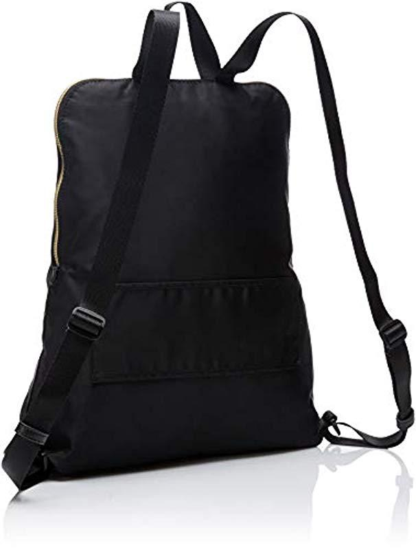 906e5bd80ef9 Lyst - Calvin Klein Tatiana Nylon Packable Zip Around Backpack in Black