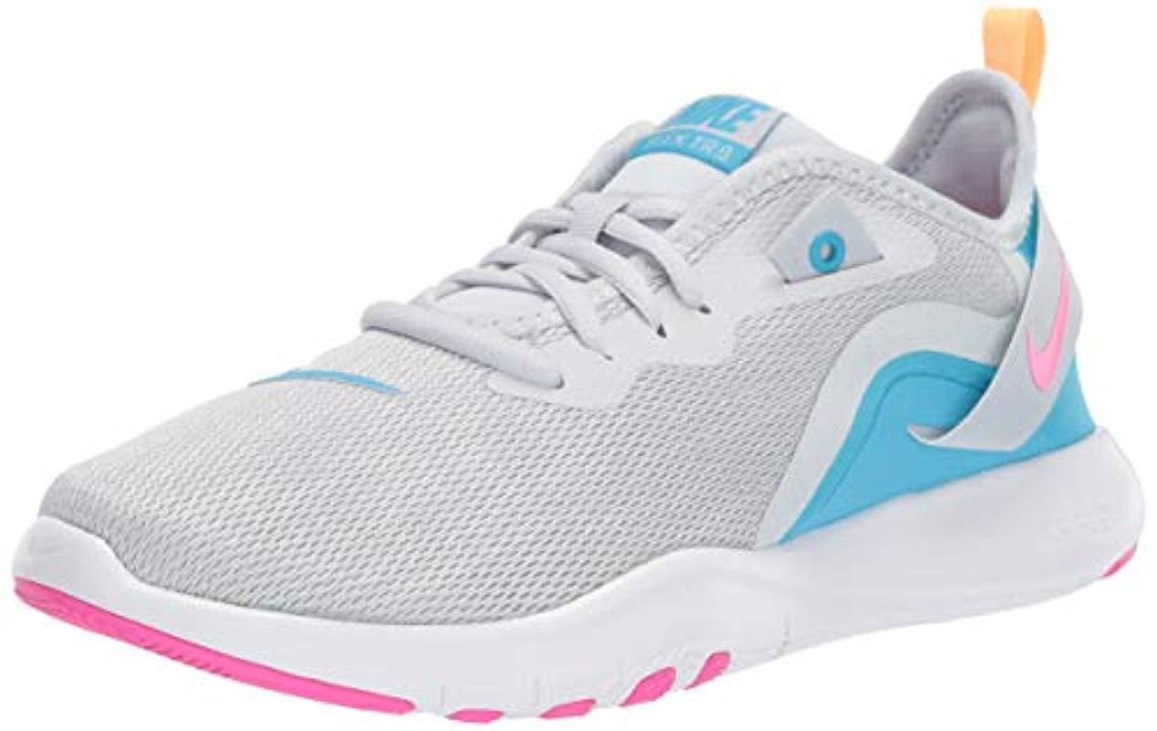 419db7340319b Lyst - Nike Flex Trainer 9 Sneaker in Blue