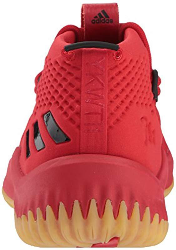 finest selection 7b35f f7001 Adidas - Red Dame 4 Shoe Basketball for Men - Lyst. View fullscreen