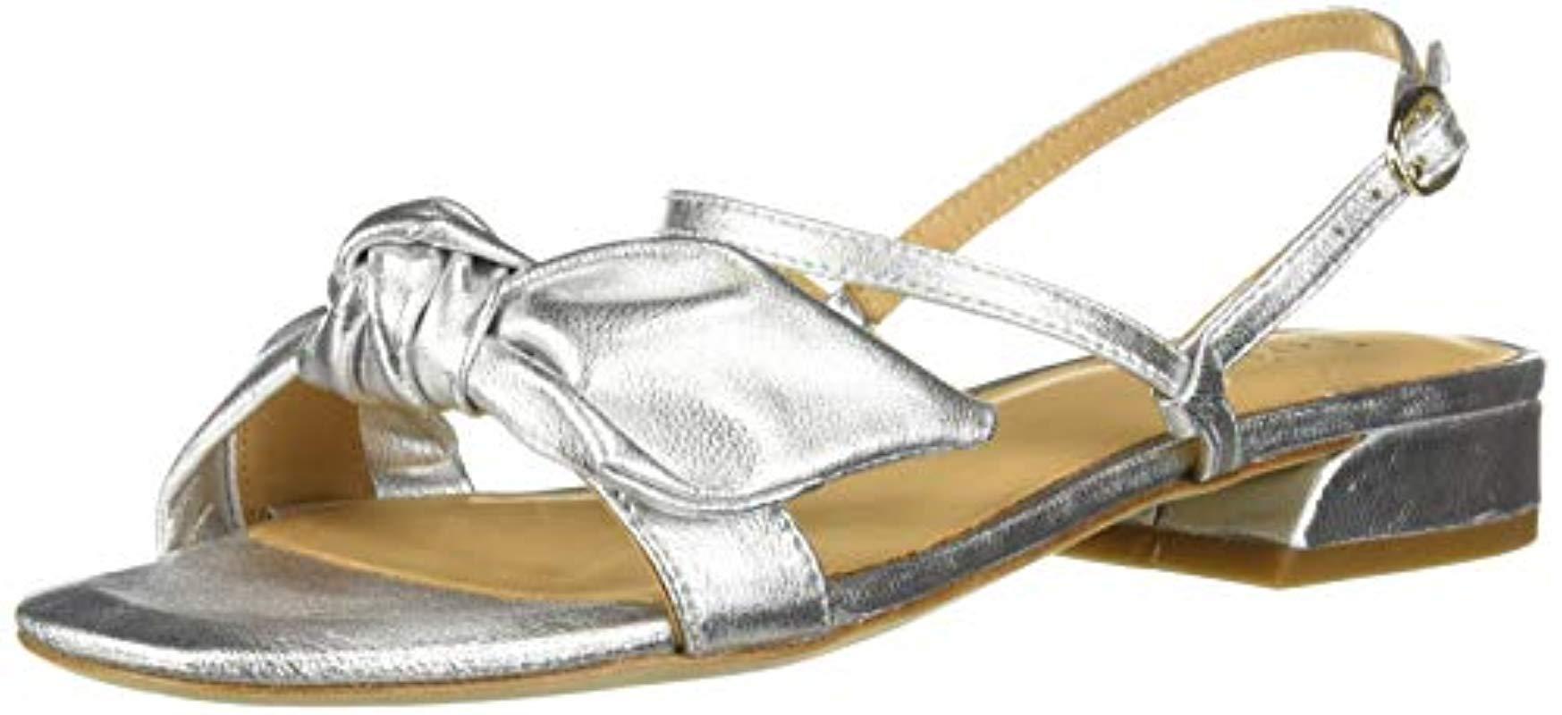 9d842417451ea Lyst - Joie Parthena Flat Sandal in Metallic