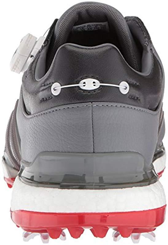 5cd803146e87 Adidas - Gray Tour360 Eqt Boa Golf Shoe for Men - Lyst. View fullscreen
