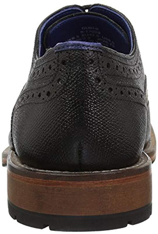 096f435bf70c97 Ted Baker - Black Guri 9 (tan Leather) Men s Shoes for Men - Lyst. View  fullscreen