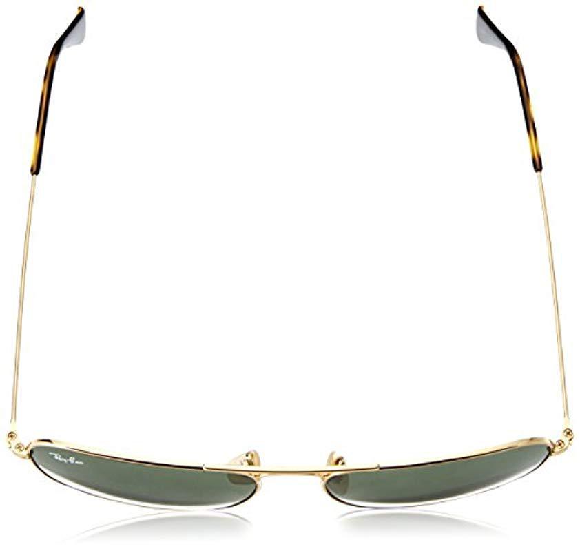 7a4d26b133 Ray-Ban - Metallic Caravan Rb3136 181 Non-polarized Sunglasses Gold Frame   Dark. View fullscreen