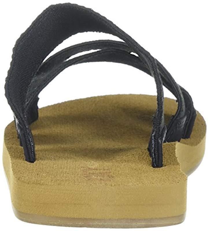 0ee176245b5f Lyst roxy shoreside sandals sport in black save jpeg 723x800 Shoreside criss