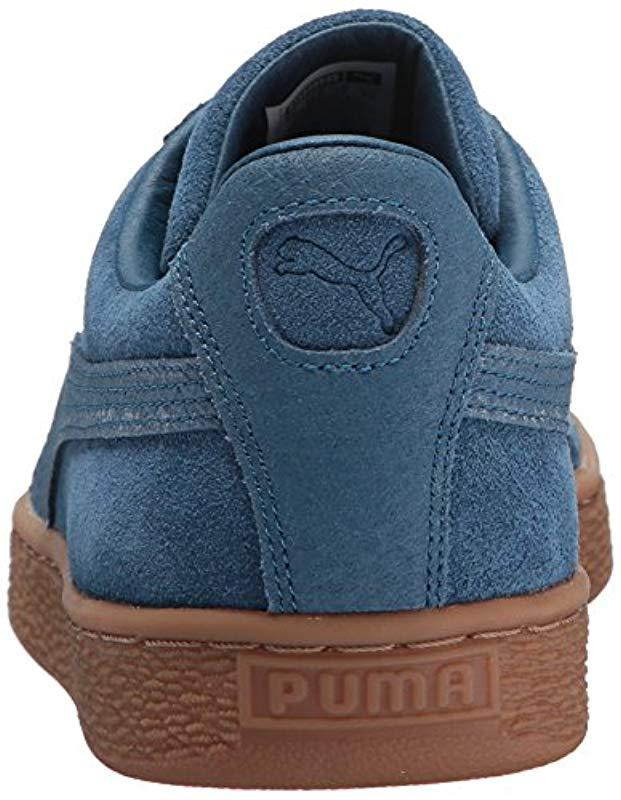 Lyst - PUMA Suede Classic Natural Warmth Sailor Blue Sailor Blue Mens Lace  Up Sneakers in Blue for Men - Save 70% fec56a0b6