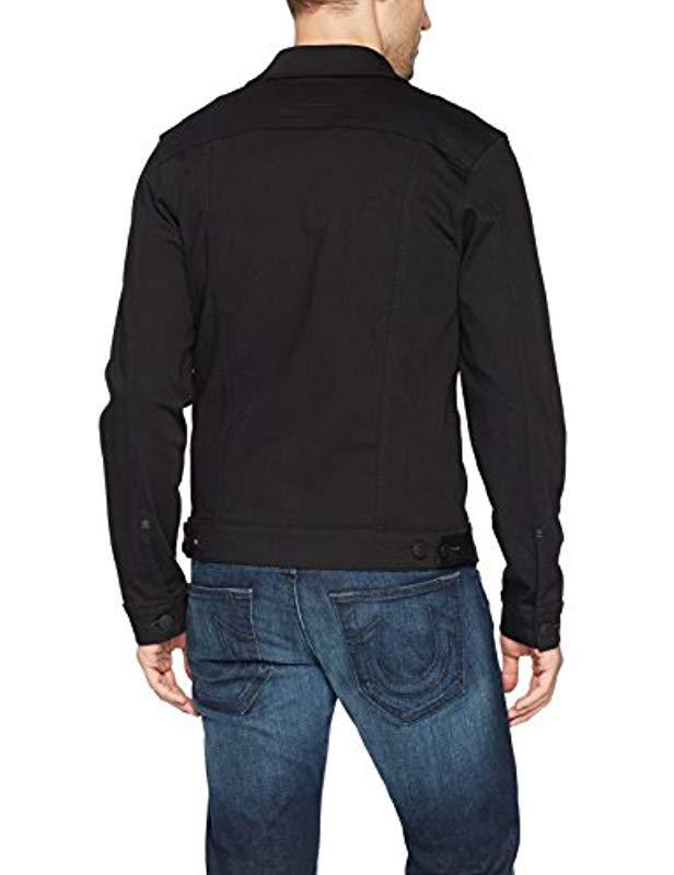 eabfd8a6b Lyst - True Religion Dylan Denim Jacket2 in Black for Men