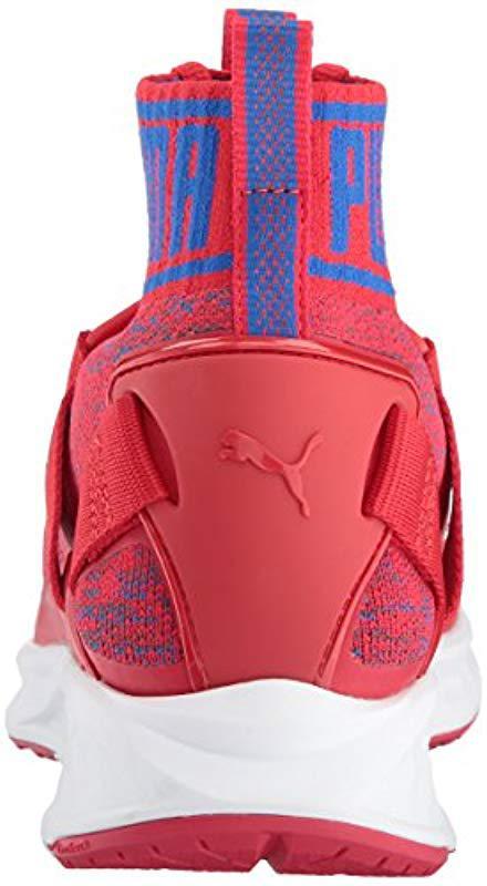 f74fdc1038bb PUMA - Red Ignite Evoknit Cross-trainer Shoe for Men - Lyst. View fullscreen