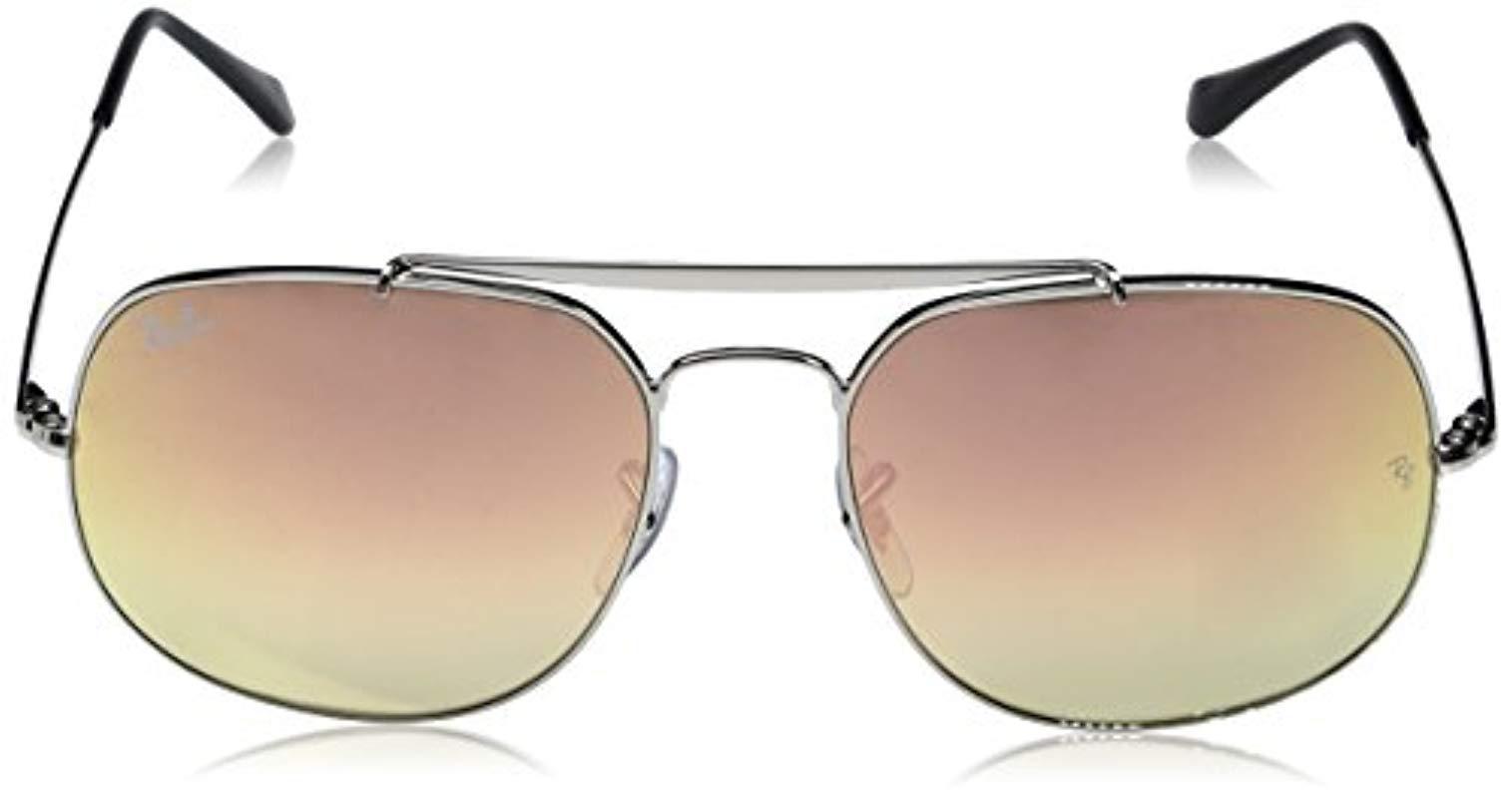 5f8543da2f Ray-Ban - Metallic Rb3561 The General Sunglasses for Men - Lyst. View  fullscreen