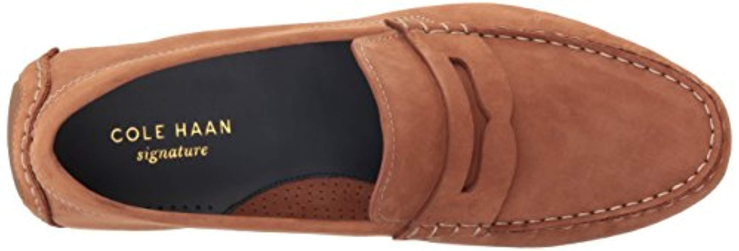 90e45d40730 Cole Haan - Brown Kelson Penny Penny Loafer for Men - Lyst. View fullscreen