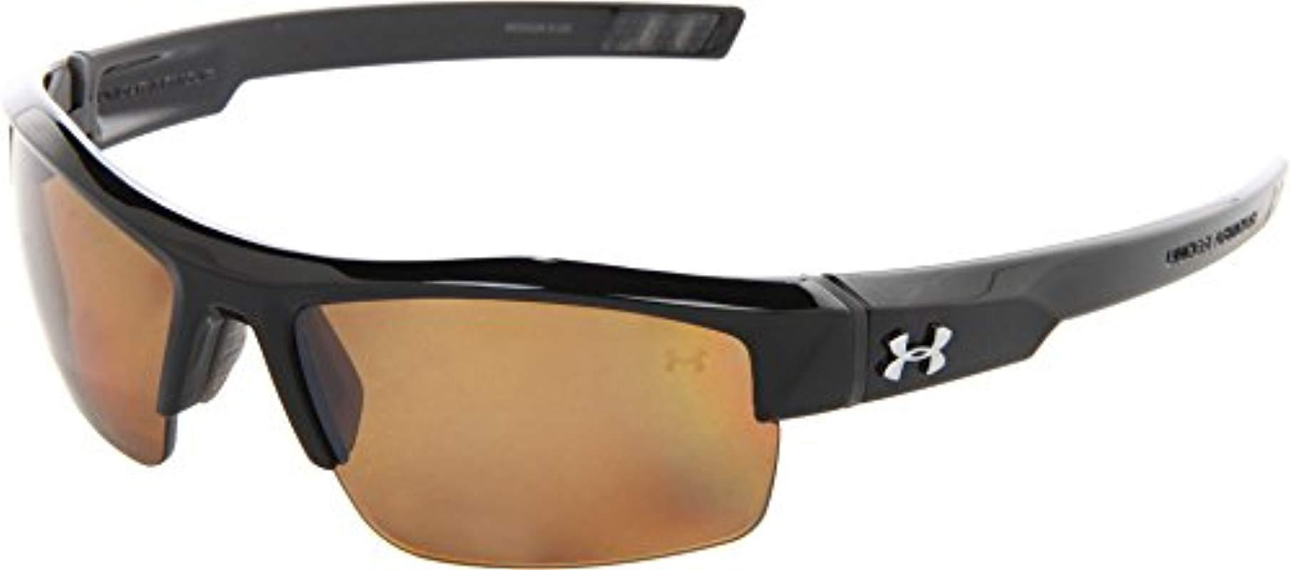4054af118e Under Armour. Women s Black Igniter Polarized Multiflection Sunglasses