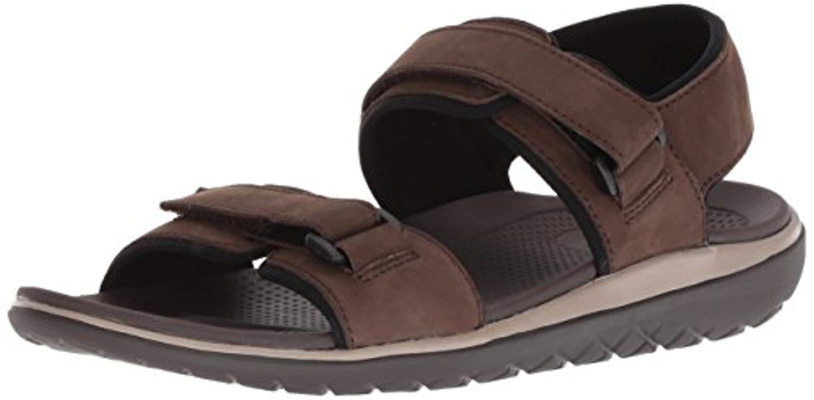 21c89e414969 Lyst - 206 Collective Greenlake Double Band Velcro Sandal in Brown ...