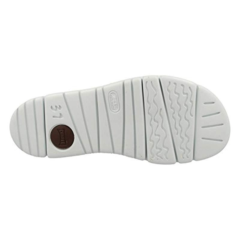 Camper - Black Oruga Sandal K200633 Flat - Lyst. View fullscreen 35f980f2bfe