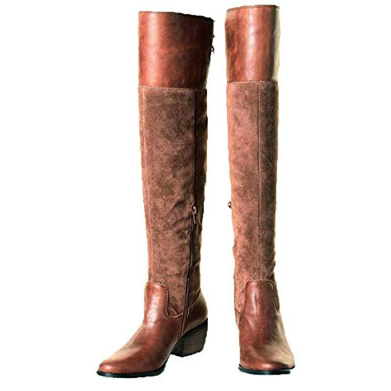 316b619228b Lucky Brand - Brown Komah Fashion Boot - Lyst. View fullscreen