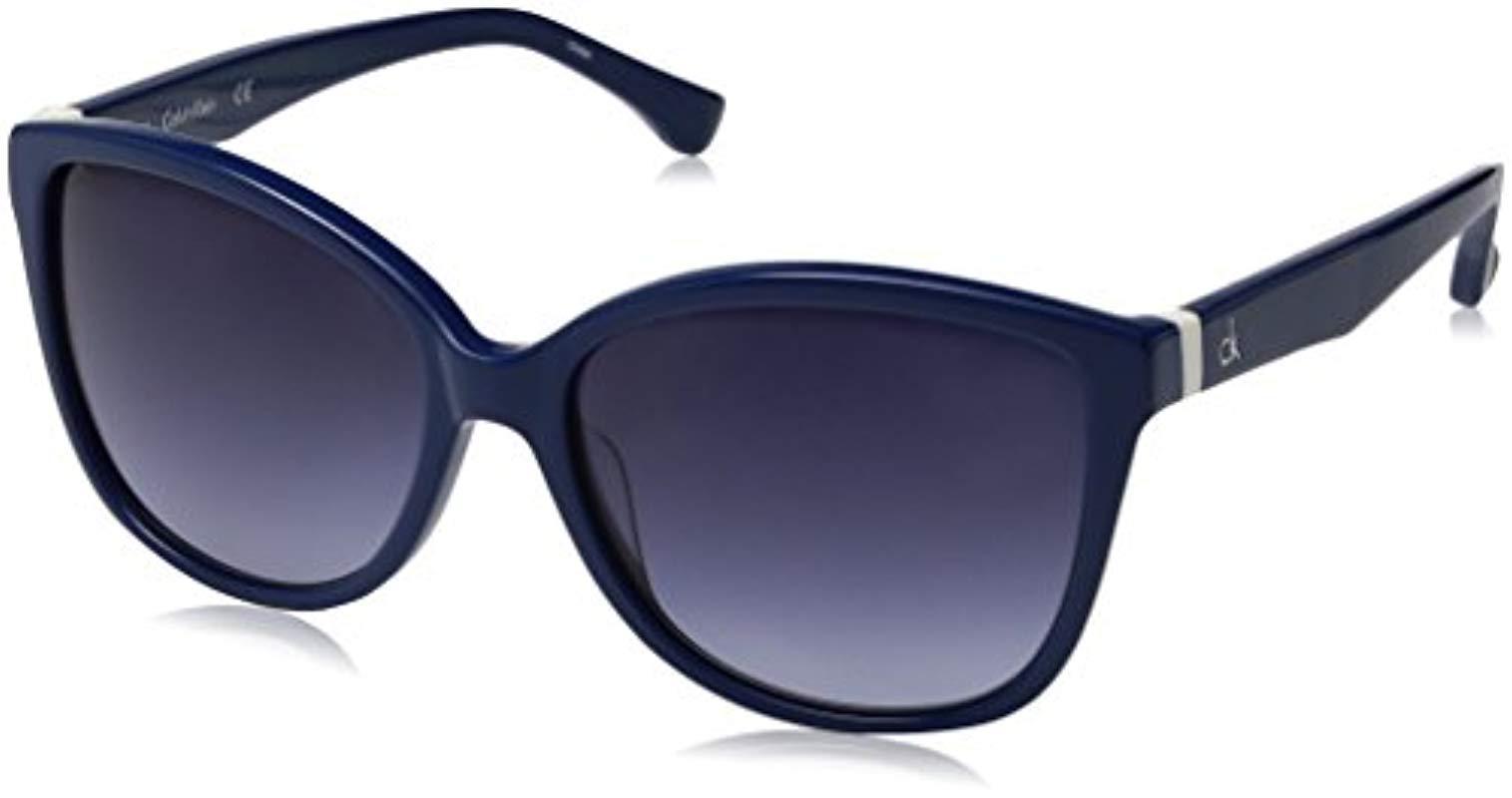 Lyst - Calvin Klein Ck4258s Cateye Sunglasses 9a7996f5c5