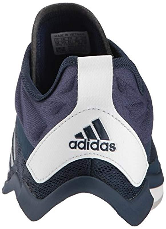 91ceaeb1b2 Men's Speed Trainer 4 Baseball Shoe Collegiate Navy/crystal White/dark  Blue-sld 5.5 M Us