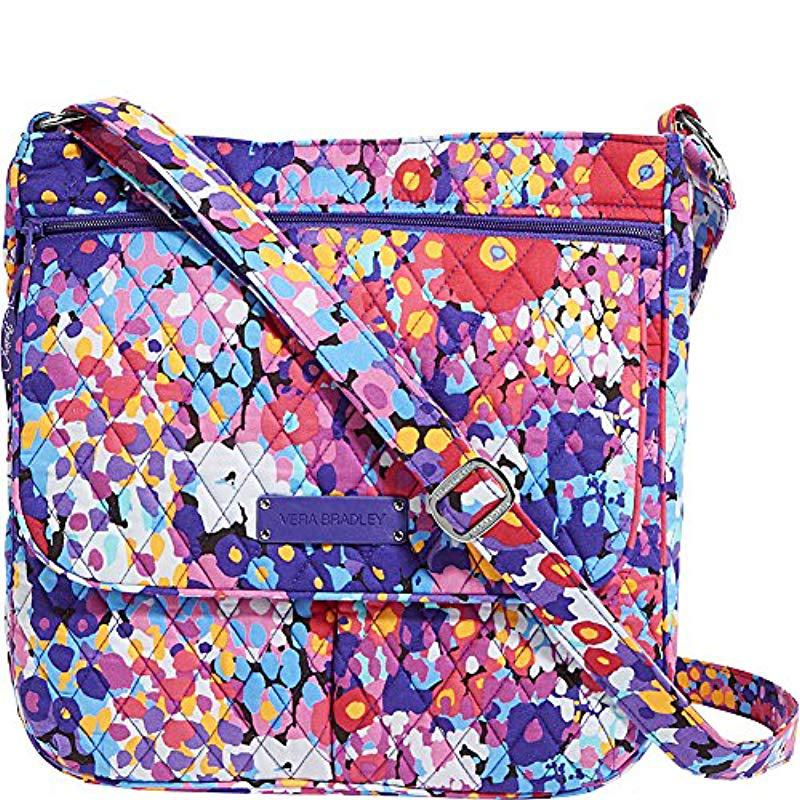 Vera Bradley - Multicolor Double Zip Mailbag, Signature Cotton - Lyst. View  fullscreen e06ec75f21