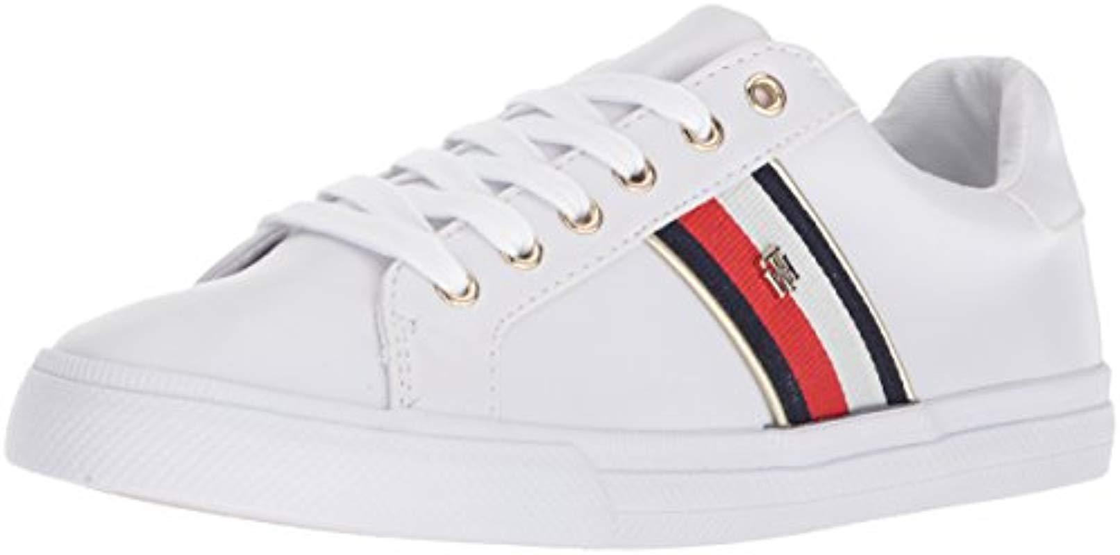 316cb0fc6983f Lyst - Tommy Hilfiger Lenka Sneaker in White - Save 51%