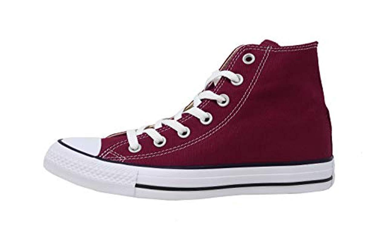 4c93f8359ab174 Lyst - Converse All Star Shoes M9613c Maroon in Purple for Men - Save 7%
