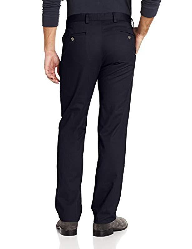18441caa Lyst - Dockers Easy Khaki D1 Slim-fit Flat-front Pant in Blue for Men