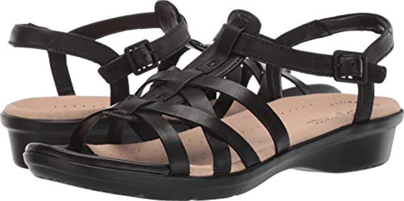 72b264d0176b Lyst - Clarks Loomis Katey Sandal in Black