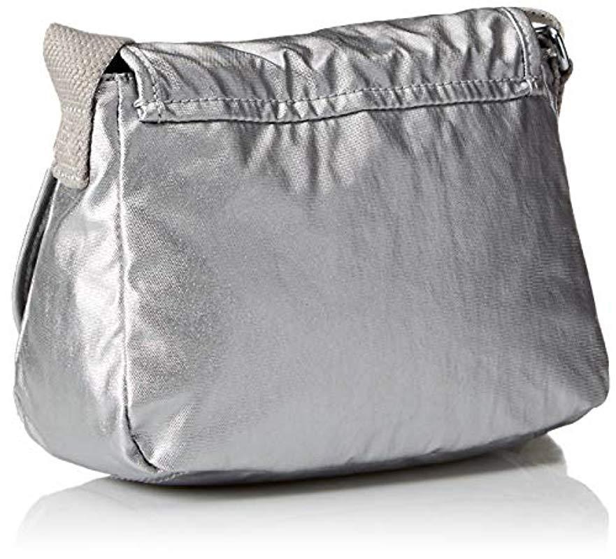 cc667a2a643c Kipling - Metallic Womens Sabian Crossbody Mini Bag - Lyst. View fullscreen