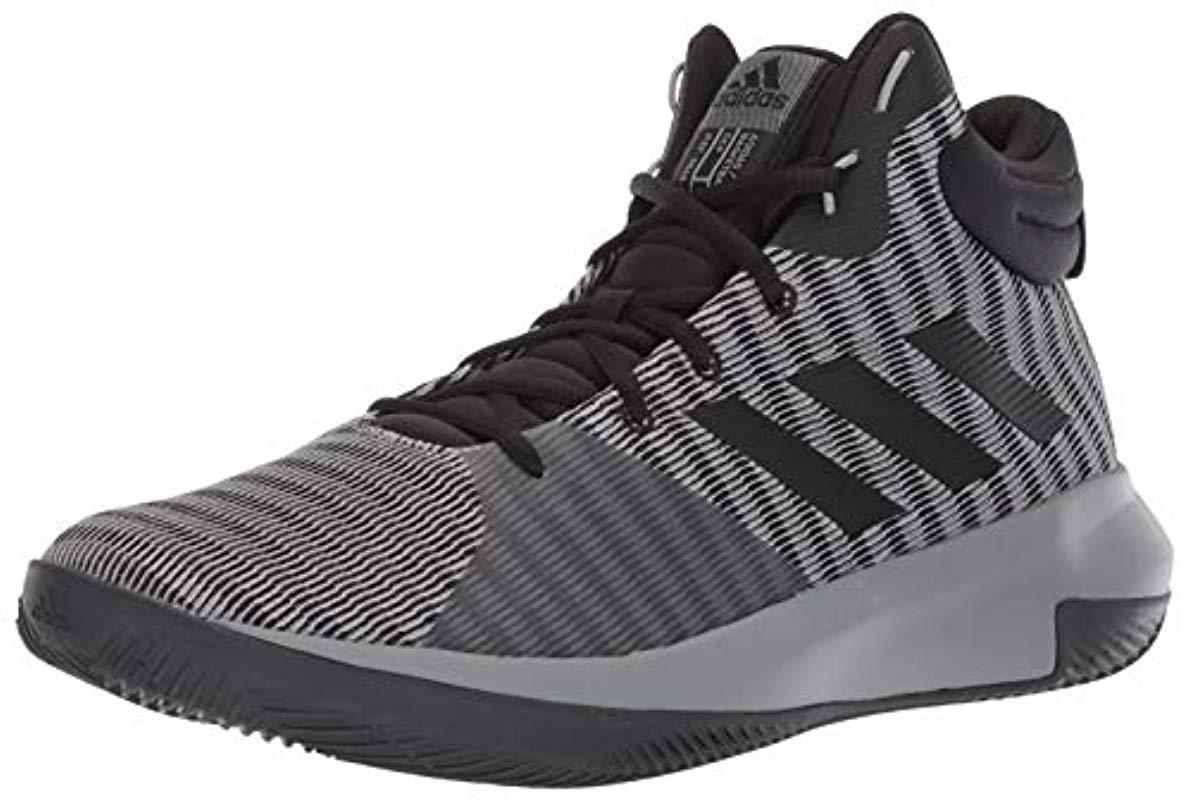 d79208242393 adidas Pro Elevate 2018 Basketball Shoe in Gray for Men - Lyst