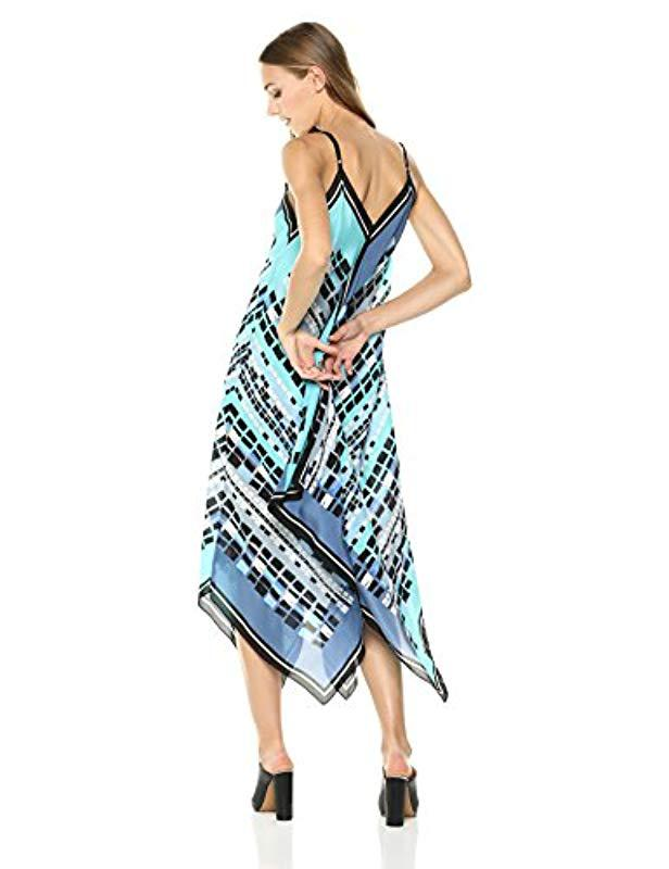 073158ee86b Lyst - NIC+ZOE From Above Dress in Blue - Save 64%