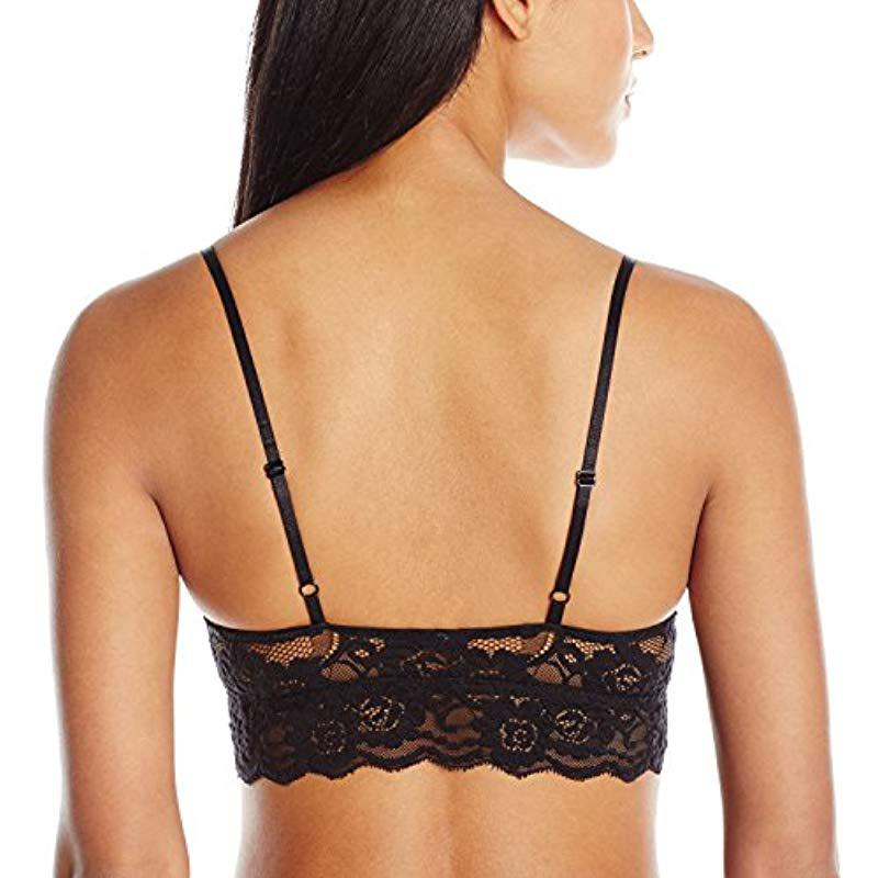 8d300eb17ff22 Lyst - Mae Lace Padded Bralette (for A-c Cups) in Black