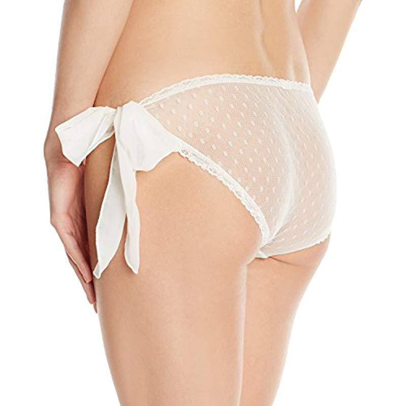 55fe0bfda76 Only Hearts - Natural Coucou Lola Side Tie Bikini - Lyst. View fullscreen