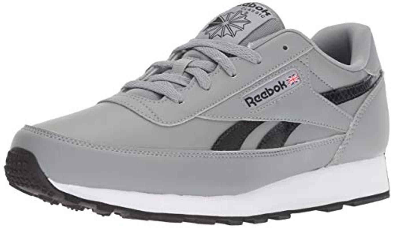 e1046e46d17 Reebok - Gray Classic Renaissance Walking Shoe for Men - Lyst. View  fullscreen