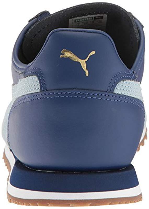 4c32bc53b6d6ca PUMA - Blue Roma Og 80s Fashion Sneaker for Men - Lyst. View fullscreen