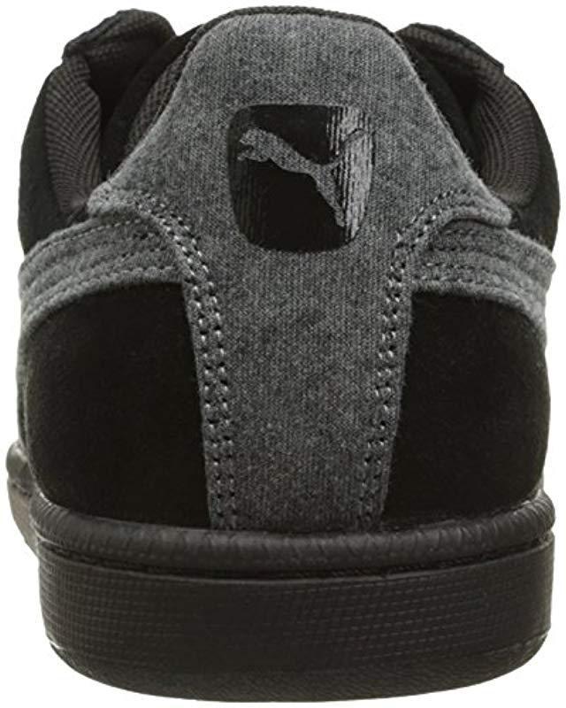 Lyst - Puma Smash Jersey Fashion Sneaker in Black for Men - Save  41.666666666666664% 5865c35c9