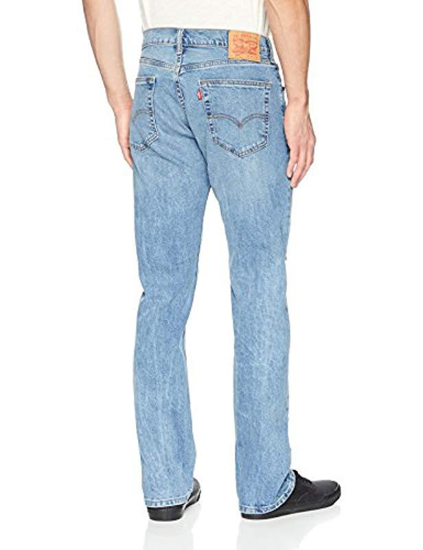Regular 505 For Blue Lyst Levi's Men Jeans In S Fit dCoWerxB