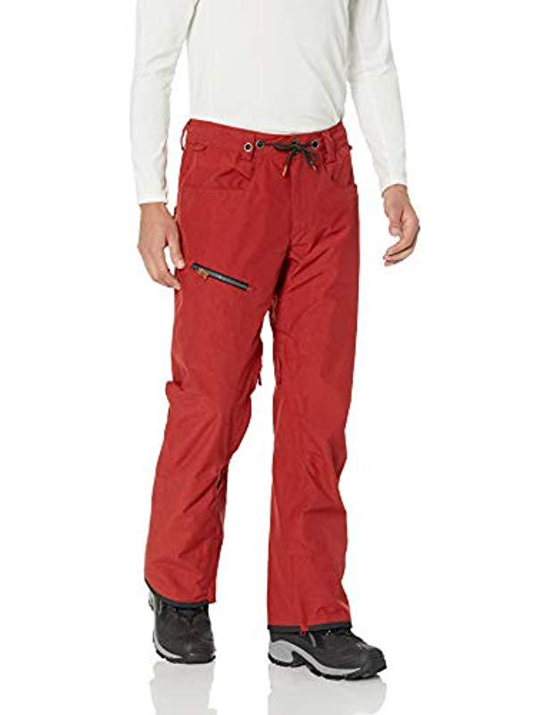 bb335f512d844 Lyst - Quiksilver S Forest Oak - Shell Snow Pants For Snow Pants in ...