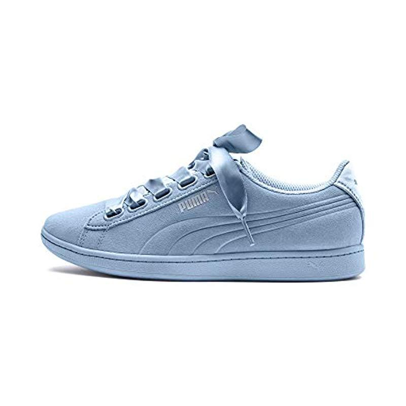 9636e98f0eb6 PUMA - Blue Vikky Ribbon Sneaker - Lyst. View fullscreen