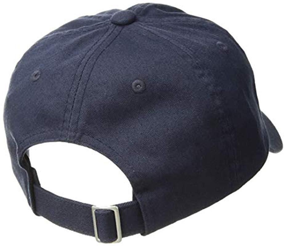 Lyst - BOSS Logo Cap in Blue for Men - Save 23% 1a025e58564