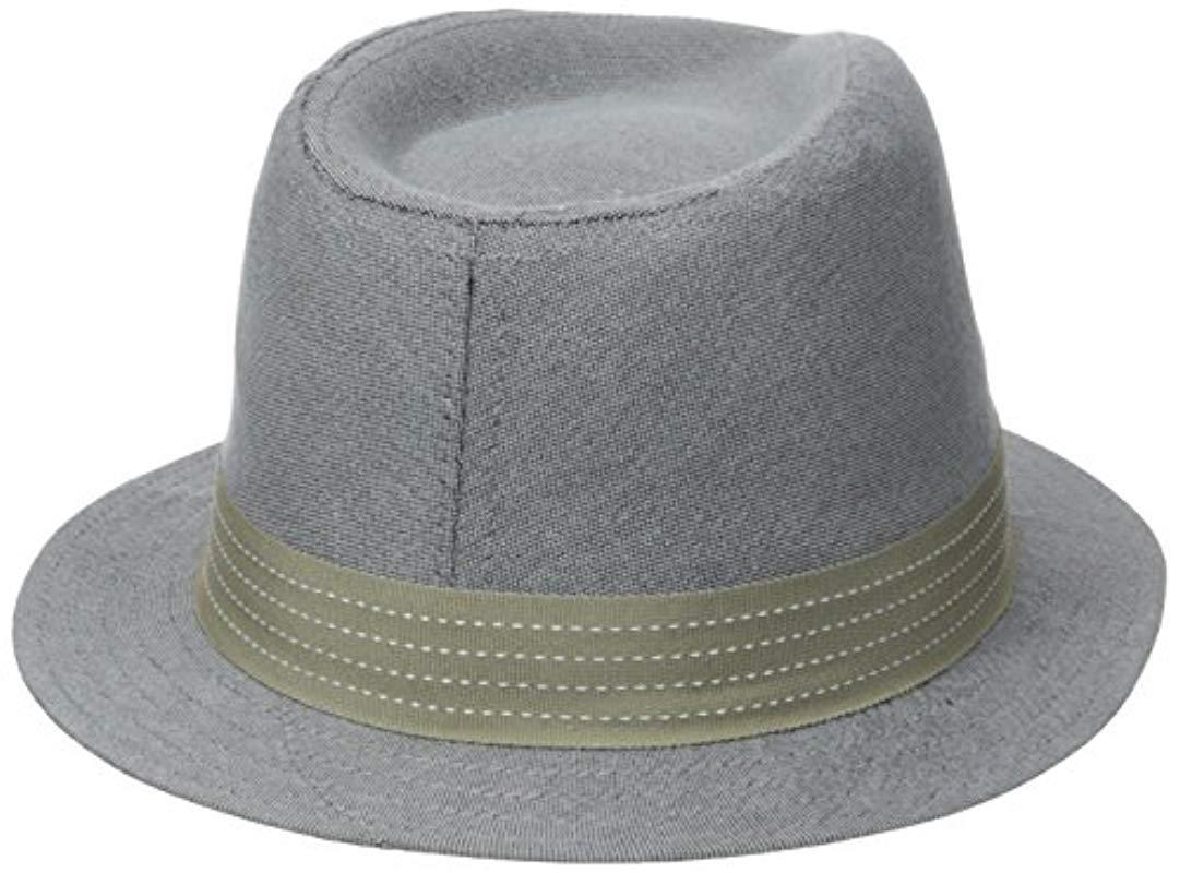 1494fec557b Ben Sherman - Gray Top Dyed Oxford Trilby for Men - Lyst. View fullscreen
