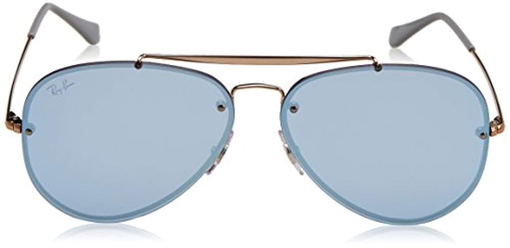 bf0717715b Ray-Ban - Multicolor Rb3584n Blaze Aviator Sunglasses - Lyst. View  fullscreen