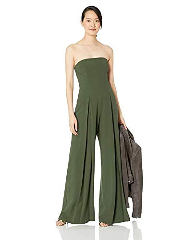 0c96bac9c8c0 Lyst - Black Halo Lincoln Jumpsuit in Green