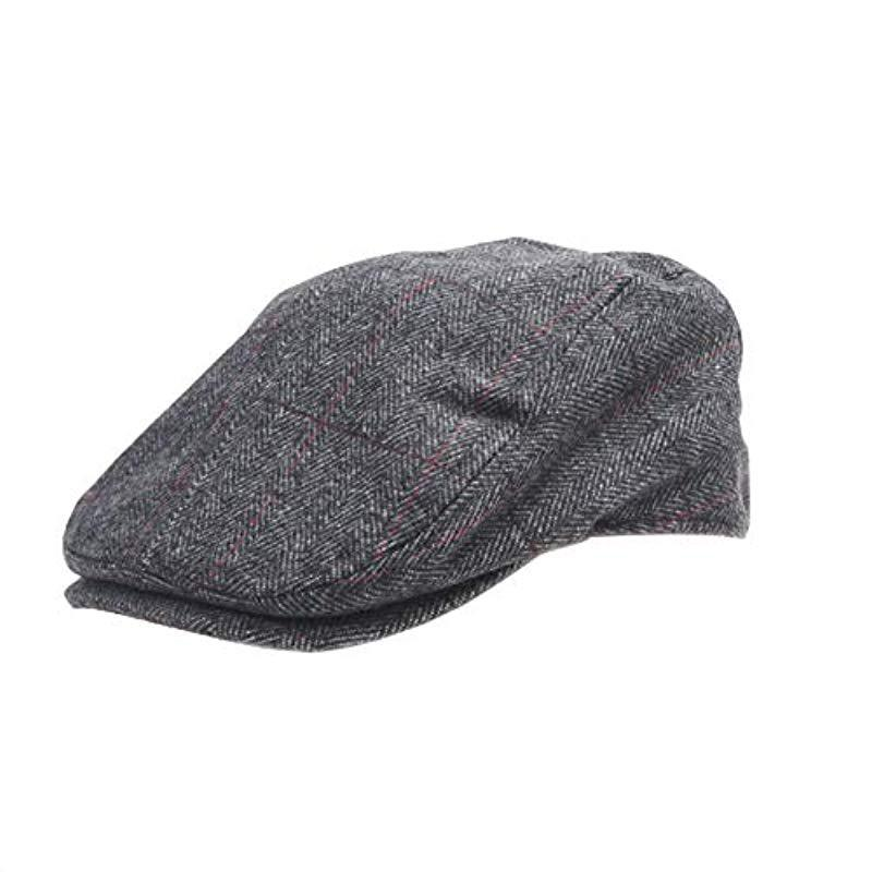 0628a62156c Lyst - Dockers Ivy Newsboy Hat in Gray for Men