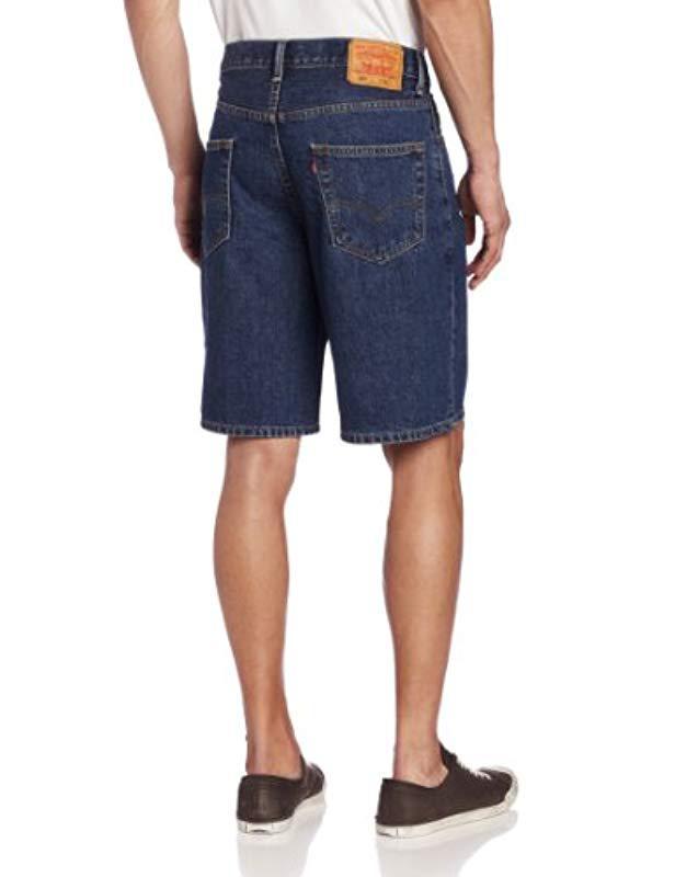 686ed950 Lyst - Levi's 505 Regular-fit Short in Blue for Men - Save 8%