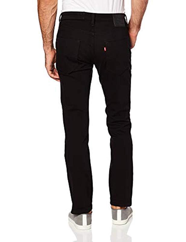 f9bc2688253 Levi's - 511 Slim Fit Commuter Jean, Black-4-way Stretch, 32. View  fullscreen