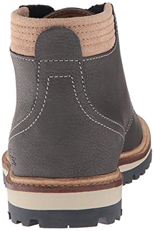 b07a4559e9ba3f Lacoste - Gray Montbard 416 1 Fashion Sneaker Chukka Boot for Men - Lyst.  View fullscreen