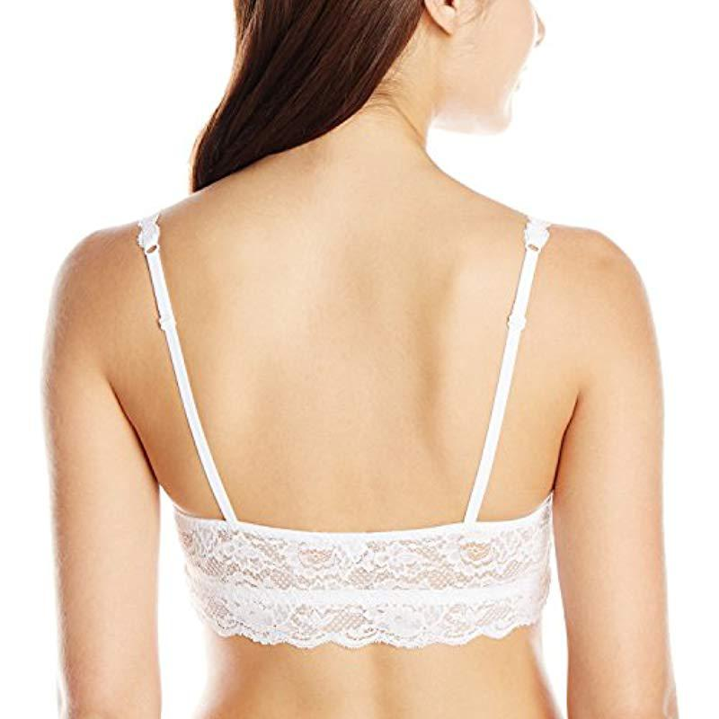 8b52a850e1ef7 Lyst - Cosabella Never Say Never Padded Sweetie Soft Bra in White