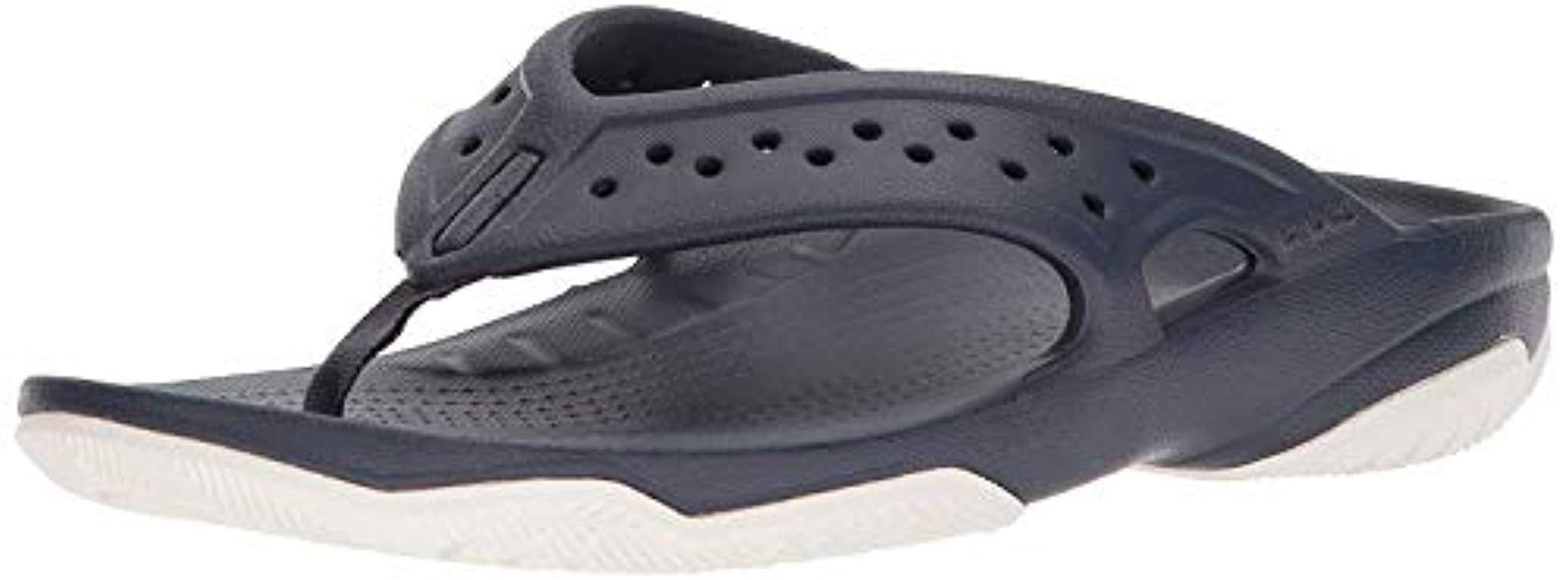 fde72061f3 Lyst - Crocs™ Swiftwater Deck Flip in Blue for Men - Save 50.0%
