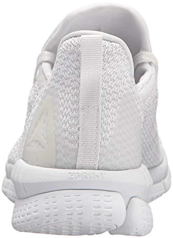 Reebok - White Print Her 2.0 Thrd Running Shoe - Lyst. View fullscreen 579c54f39
