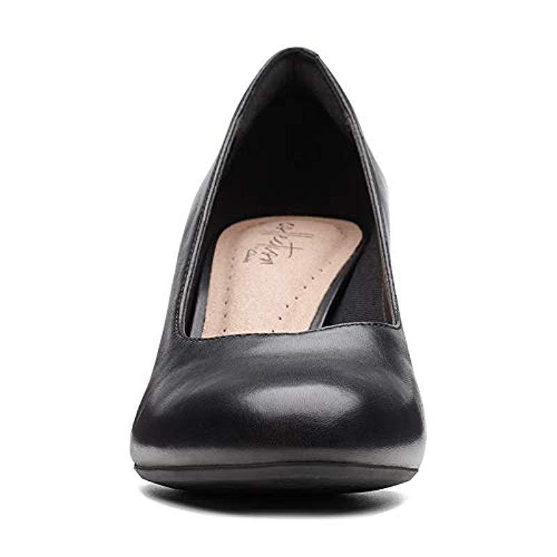 3417aa2099e Clarks - Black Dancer Nolin Pump - Lyst. View fullscreen