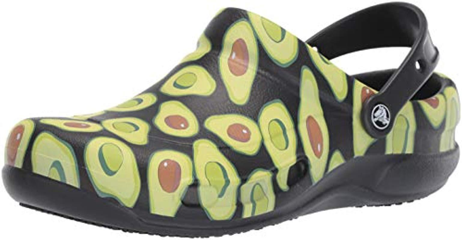 fded31fdca07 Lyst - Crocs™ And Bistro Graphic Clog
